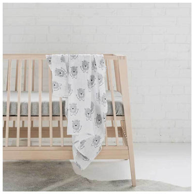 Mister Fly Lion Muslin Wrap | Koop.co.nz