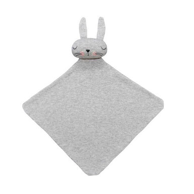 Mister Fly Grey Bun Bun Baby Comforter | Koop.co.nz