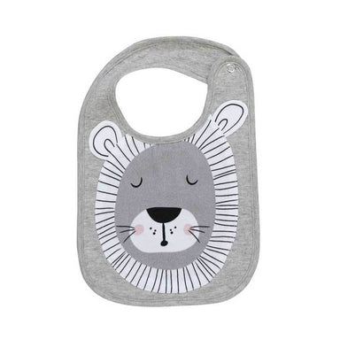 Mister Fly Lion Face Baby Bib | Koop.co.nz
