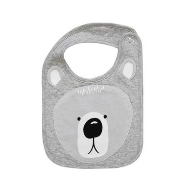 Mister Fly Bear Face Baby Bib | Koop.co.nz