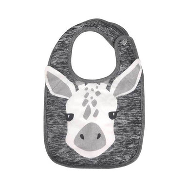 Mister Fly Giraffe Face Baby Bib | Koop.co.nz