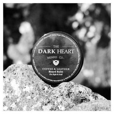 The Dark Heart Beard Co. Coffee & Leather Beard Balm | Koop.co.nz