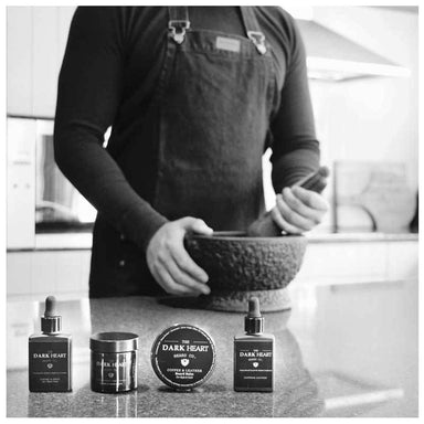 The Dark Heart Beard Co. Arabica Facial Scrub | Koop.co.nz