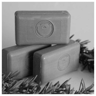 The Dark Heart Beard Co. Charcoal & Rosemary Wash Bar | Koop.co.nz