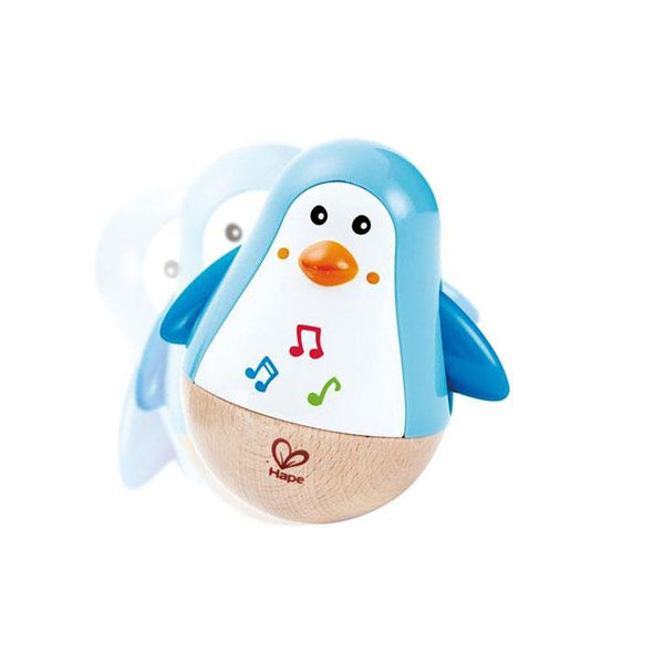 Hape Penguin Musical Wobbler | Koop.co.nz