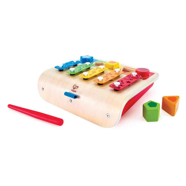 Hape Shape Sorter Xylophone (7pc) | Koop.co.nz