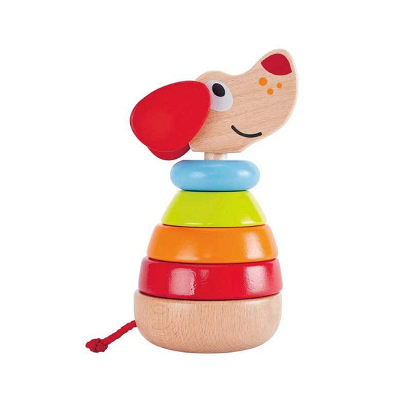 Hape Pepe Sound Stacker (6pc) | Koop.co.nz