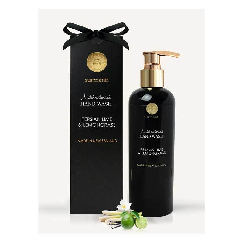 Surmanti Antibacterial Hand Wash - Persian Lime & Lemongrass | Koop.co.nz