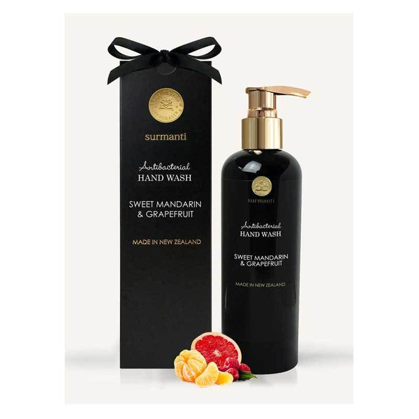 Surmanti Antibacterial Hand Wash - Sweet Mandarin & Grapefruit (300ml) | Koop.co.nz
