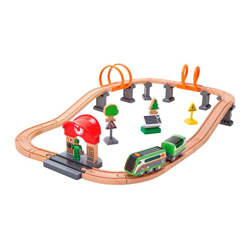 Hape Solar Power Circuit (37pc) | Koop.co.nz