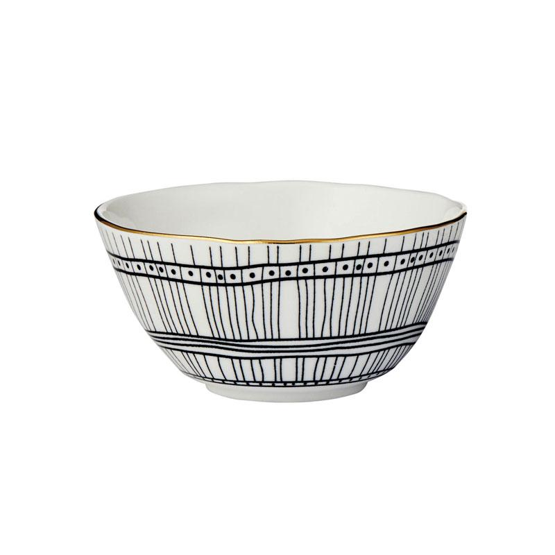 Davis & Waddell Amhara Bowl – Grid (12cm) | Koop.co.nz