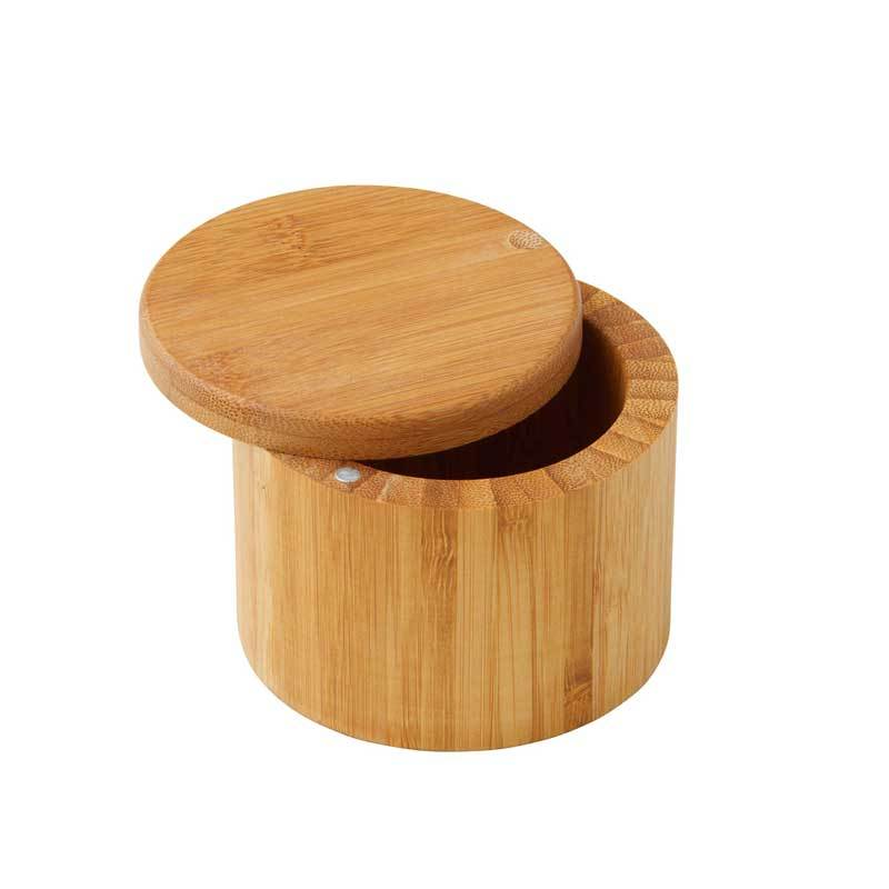 Masterpro Bamboo Salt Box | Koop.co.nz