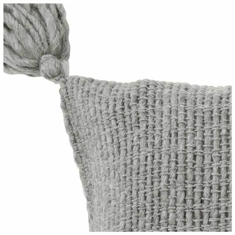 Amalfi Wool Blend Eastside Rectangle Tassel Cushion (60cm) | Koop.co.nz