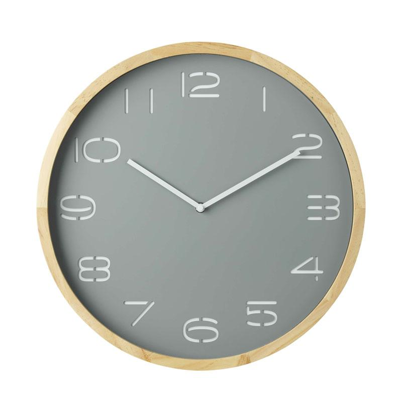 Amalfi Grey Leni Wall Clock (41.5cm) | Koop.co.nz