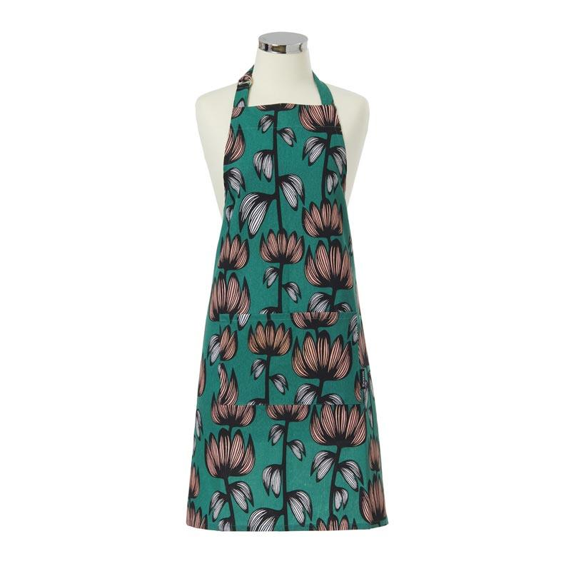 Finlayson Alma Green Apron | Koop.co.nz