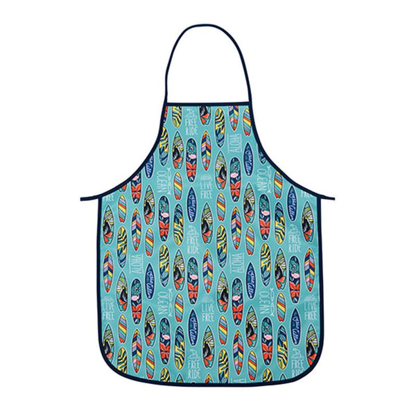 Annabel Trends Easy Wipe Kids Apron – Surfs Up | Koop.co.nz
