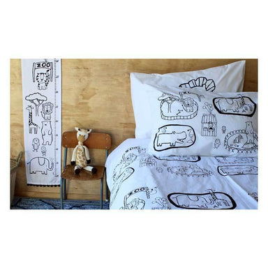 Henry & Co. Zoo World Pillowcase | Koop.co.nz
