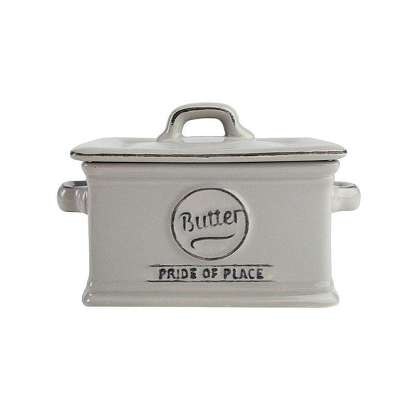 T&G Woodware Butter Dish - Cool Grey | Koop.co.nz