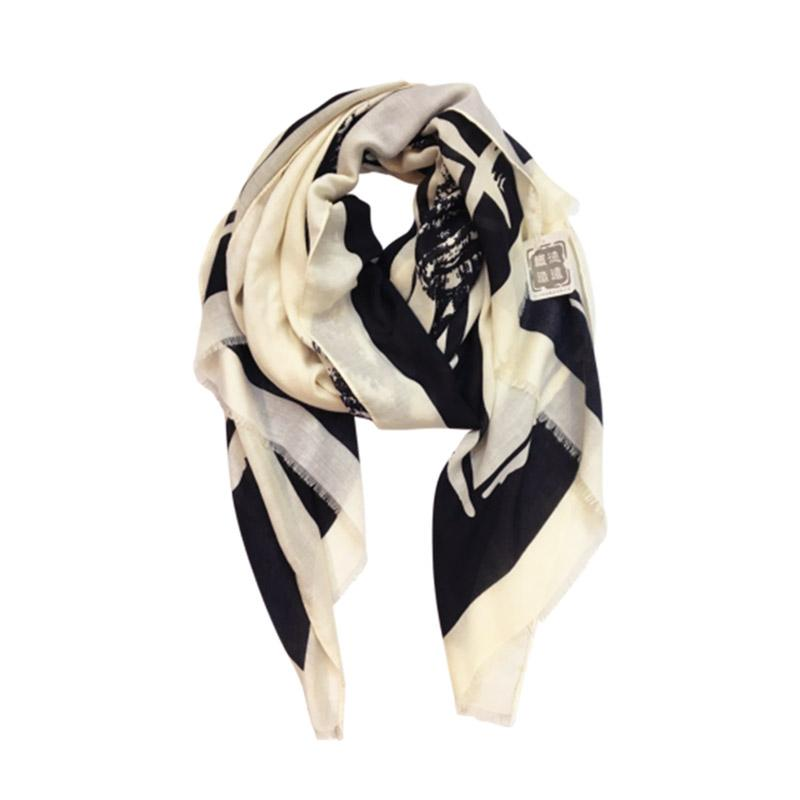 Urban Products Ink Hatch Scarf | Koop.co.nz