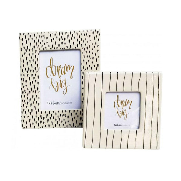Urban Products Monochrome Photo Frame | Koop.co.nz