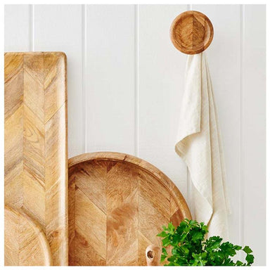 Country Style Heathcoate Parquetry Wall Hook | Koop.co.nz