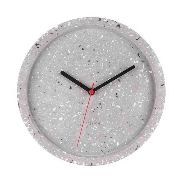 Karlsson Tom Terrazzo Wall Clock (26cm) | Koop.co.nz