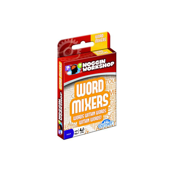 Noggin Workshop Word Mixers Card Game | Koop.co.nz