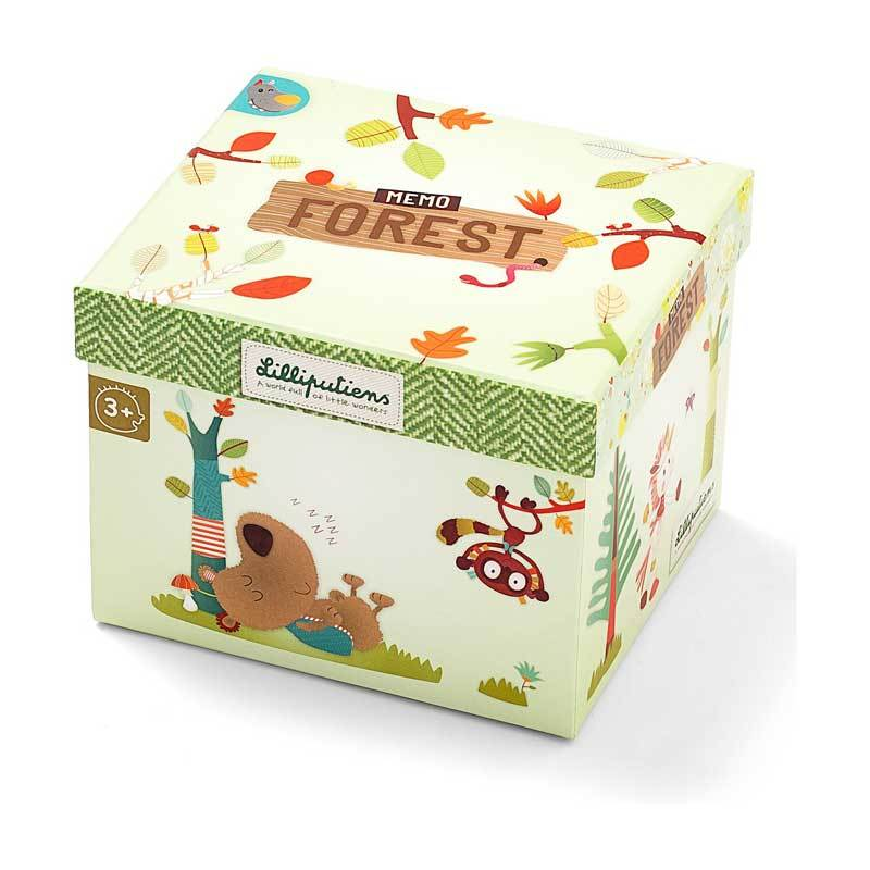 Lilliputiens Forest Memory Match Game | Koop.co.nz