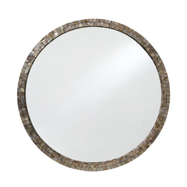 LaVida Mosaic Natural Shell Mirror (76cm) | Koop.co.nz