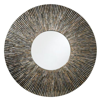 LaVida Mosaic Sunray Shell Mirror (91cm) | Koop.co.nz