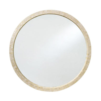 LaVida Mosaic White Shell Mirror (78cm) | Koop.co.nz