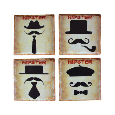 LaVida Hipster Coaster Set | Koop.co.nz