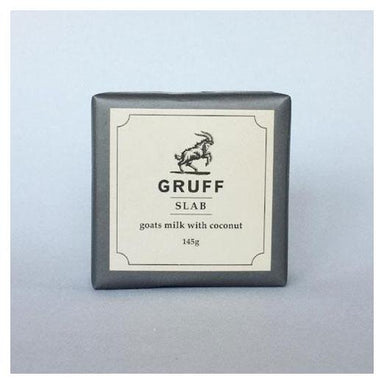 Gruff Slab Soap – Goats Milk & Coconut (145g) | Koop.co.nz