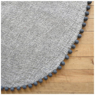 Sheepish Design NZ Wool Rug – Grey/Storm | Koop.co.nz