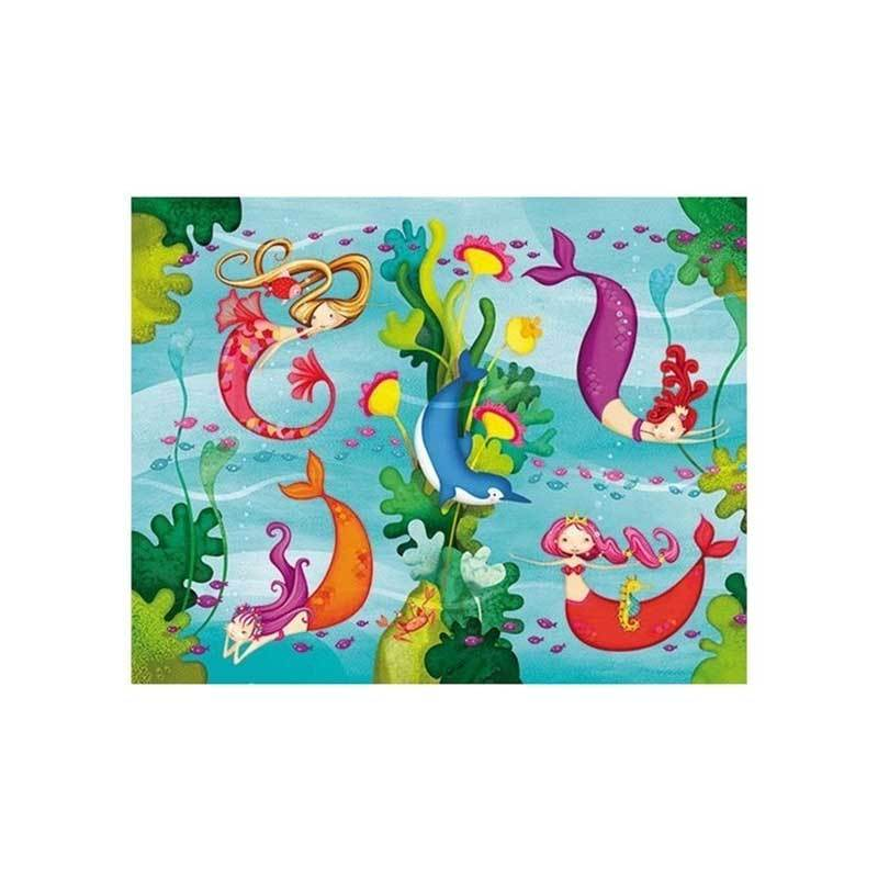 Crocodile Creek Mermaid Mini Puzzle (24pc) | Koop.co.nz