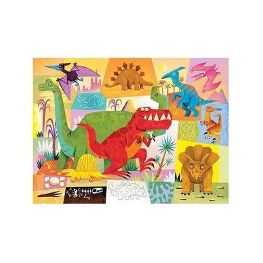 Crocodile Creek Dinosaur Mini Puzzle (24pc) | Koop.co.nz