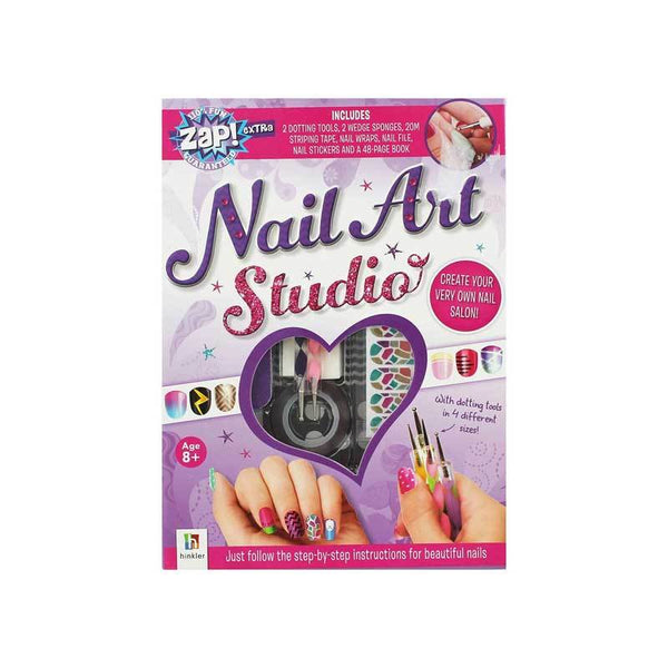 Hinkler Nail Art Studio & Book | Koop.co.nz