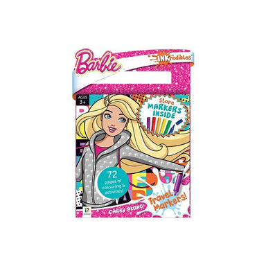 Hinkler Inkredibles Barbie Carry Along Travel Markers & Activity Book | Koop.co.nz