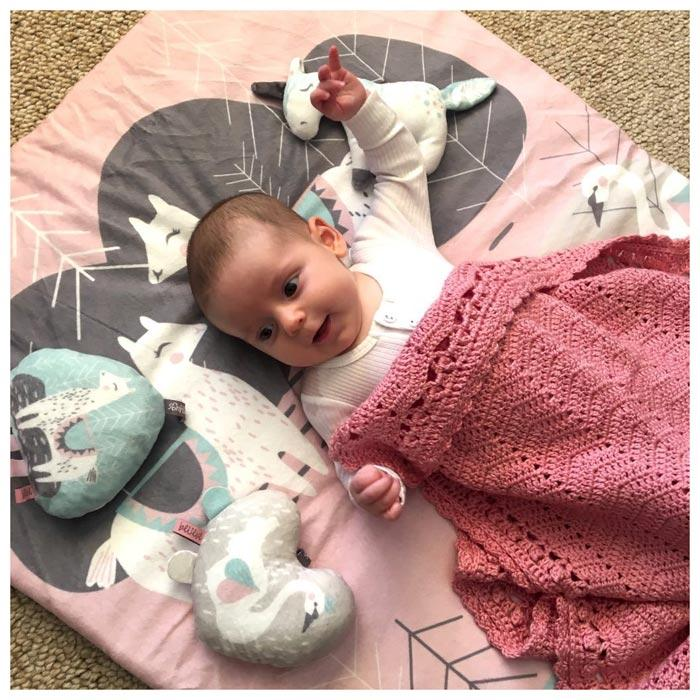 O.B Designs Sweet Romance Padded Playmat | Koop.co.nz