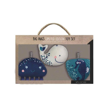O.B Designs Whale Of A Time Sensory Toy Set | Koop.co.nz