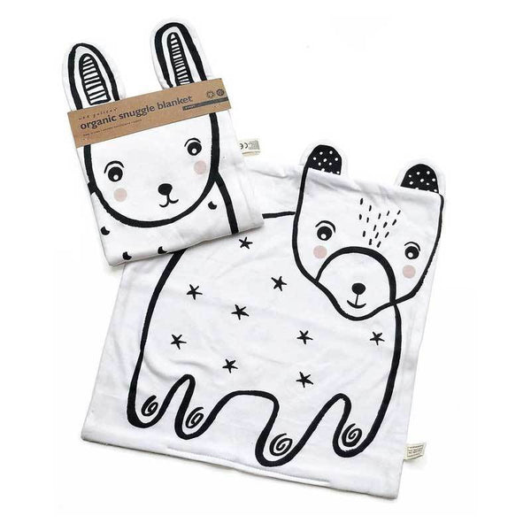 Wee Gallery Organic Snuggle Blanket - Bunny | Koop.co.nz
