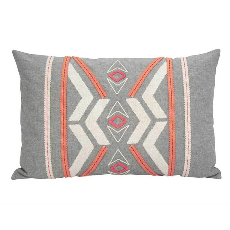 Stoneleigh & Roberson Peachee Rectangle Cushion (55cm) | Koop.co.nz