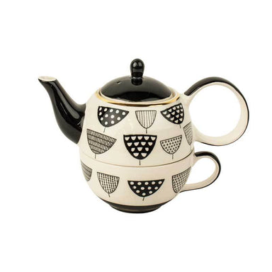 Cha Cult Graphic Teapot For One Set | Koop.co.nz