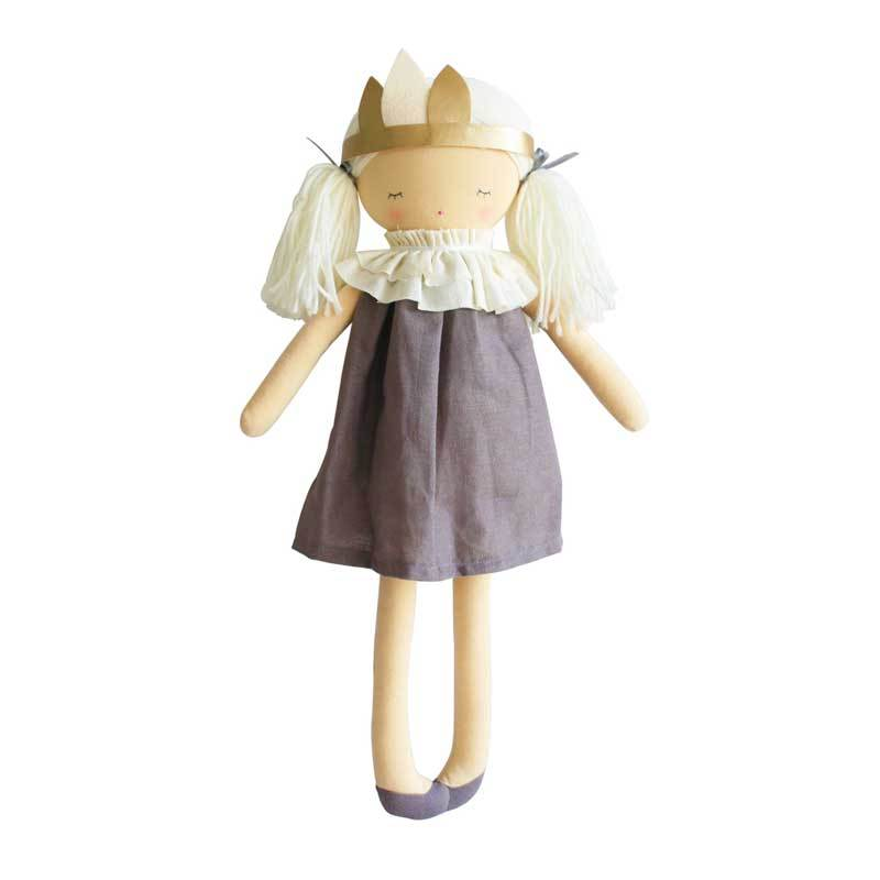 Alimrose Stevie Lavender Doll (46cm) | Koop.co.nz