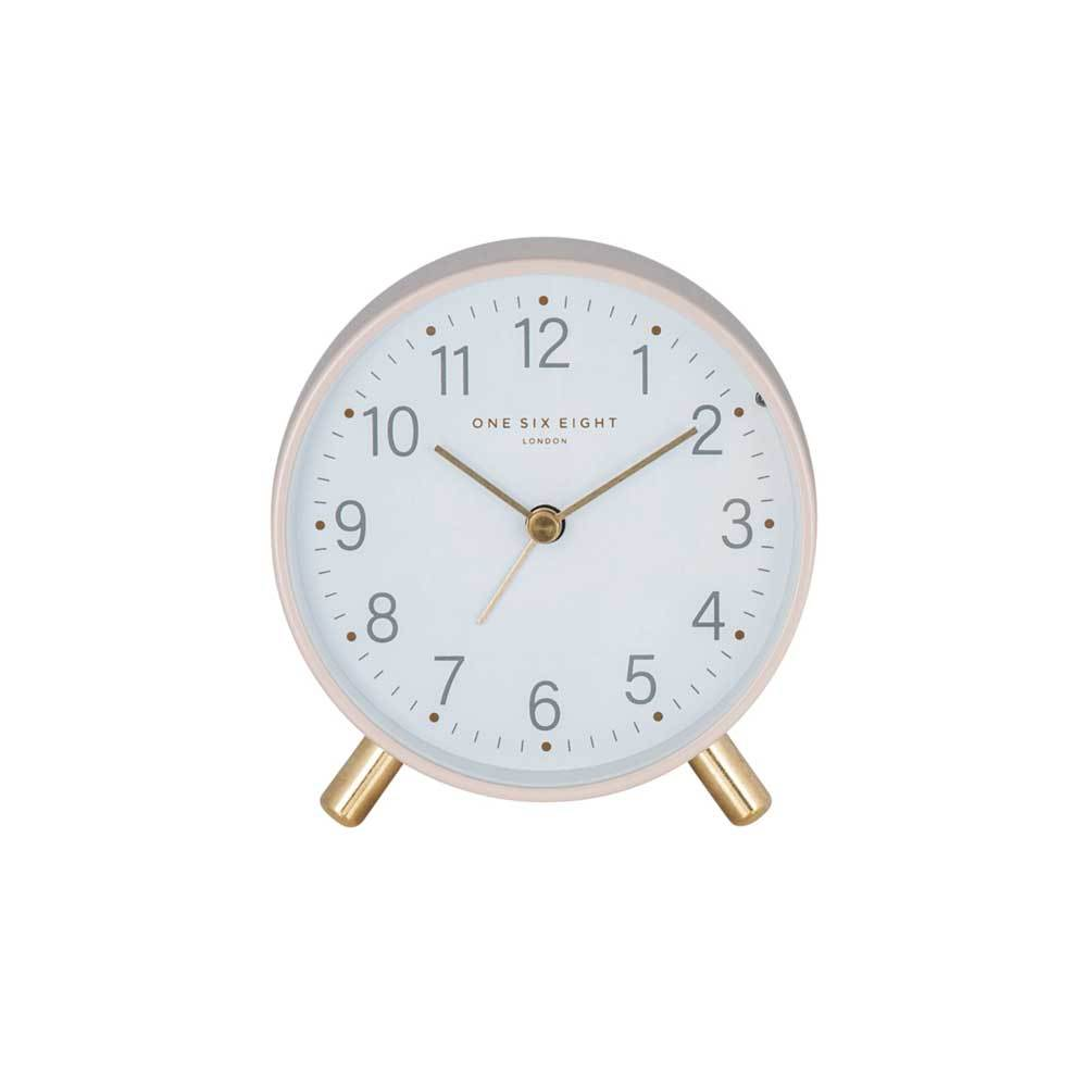 One Six Eight Maisie Alarm Clock with Light - Blush | Koop.co.nz