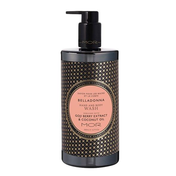 MOR Boutique Emporium Hand & Body Wash (500ml) - Belladonna | Koop.co.nz