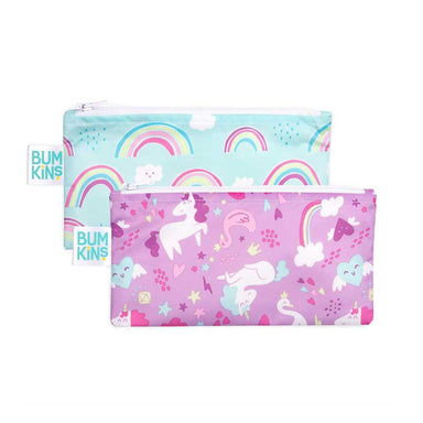 Bumkins Small Snack Bag 2pk - Unicorn | Koop.co.nz