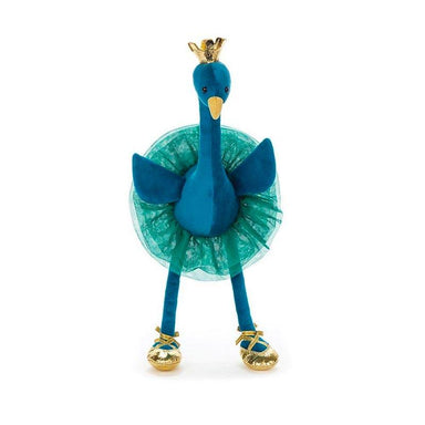 Jellycat Fancy Peacock - Medium | Koop.co.nz
