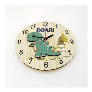 Crystal Ashley Small Clock – Roar (20cm) | Koop.co.nz