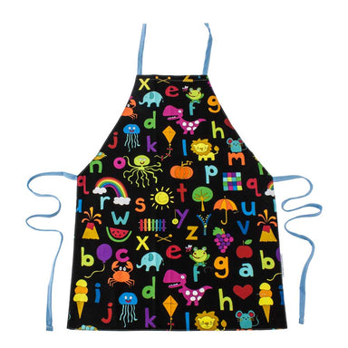 Harvest Creations Reversible Kids Apron – Animal/ABC | Koop.co.nz